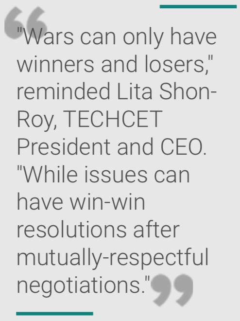 Techcet CEO's Quote