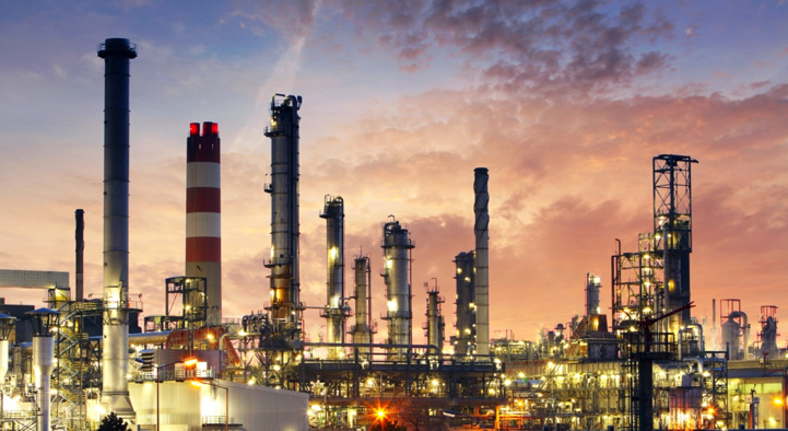 Semiconductor Materials Supply-Chain Shortages COVID-19 Fallout and More to Come from Chip Fab Expansions: Image of Refineries.